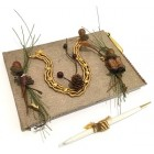 Western Theme Horseshoe Guest Book and Pen for Birthday Wedding Sweet 16