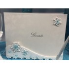 Winter Wonderland Theme Collection Guest Book for Wedding, Sweey 16 All Occasion