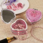 Heart Shaped Box pink Jewelry Pink Box