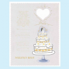 Wedding Invitations in Spanish Invitaciones de Nuestra Boda with Envelopes 12 Ct