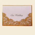 Our Wedding Invitations with Envelopes Party Supplies Party Accessories 8 Ct