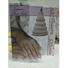 Wedding Trifold Hands with Rings Invitation in Spanish Invitacion a Nuestra Boda with Envelopes 8 Ct
