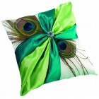 wedding Peacock Feather Ring Bearer Pillow