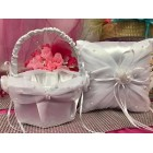 Wedding Reception Ring Pillow or Flower Basket