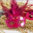 Masquerade Mask Favor Pin Party Supplies
