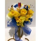 Belle Beauty and The Beast Wedding Bridal Flower Bouquet Gift Idea